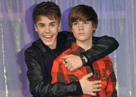 Justin Bieber ya disfruta de su alter ego en cera