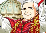 El Papa Benedicto XVI, en versión manga