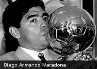 El Balón de Oro robado a Maradona acabó convertido en lingotes