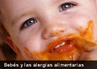 Los bebés y las alergias alimentarias