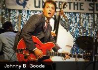 ¿Qué tienen el común Judas Priest, Elvis y Marty McFly? Johnny B. Goode