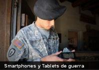 El Ejército de Estados Unidos ya está utilizando smartphones y tablets