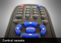 ¿Sabes cómo funciona el control remoto?