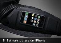 Si Batman tuviera un iPhone…