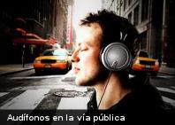 Vinculan uso de audífonos con mayor riesgo de accidentes