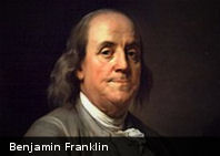 «Un hoy vale por dos mañanas» Benjamin Franklin en 12 frases
