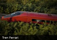 Te presentamos a «Italo», el nuevo tren de Ferrari que viaja a 560 kilómetros por hora (+Imágenes)