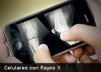 Un vistazo al futuro: celulares con Rayos X