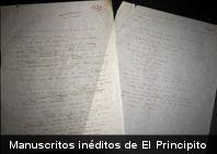 Encuentran por casualidad dos páginas inéditas de 'El Principito'