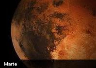 Detectan flujos de lava en Marte