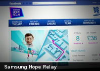 Samsung Hope Relay: la antorcha virtual para esta Olimpiadas (+Video)
