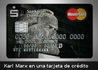 Tarjetas de crédito temáticas de Karl Marx son una sensación en Alemania (+Imagen)