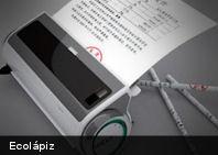 Curioso dispositivo que crea lápices a partir de hojas de papel
