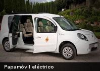 Ecología: Renault le dona un auto eléctrico al Papa