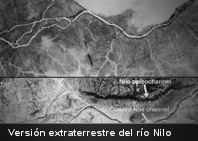 Descubren una versión extraterrestre del río Nilo