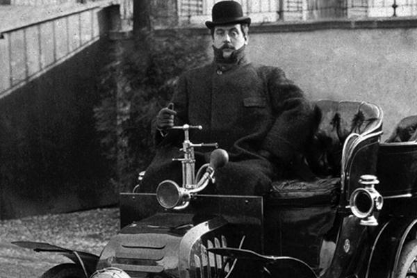 Un compositor de ópera fue el precursor de los autos 'todoterreno'