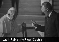 Discurso de Fidel Castro durante la visita de S.S. Juan Pablo II a Cuba en 1998