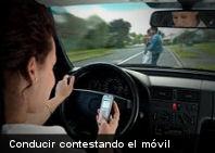 Estudio confirma que es más peligroso conducir contestando el móvil que borracho