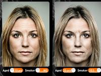 Esta app te hará ver como lucirá tu rostro gracias a los cigarrillos