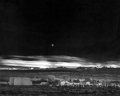 ¿Conoces esta fotografía? La salida de la luna