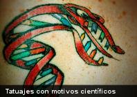En Imágenes: 8 curiosos tatuajes con motivos científicos