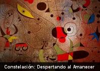 ¿Conoces este cuadro? Constelación: despertando al amanecer de Joan Miró