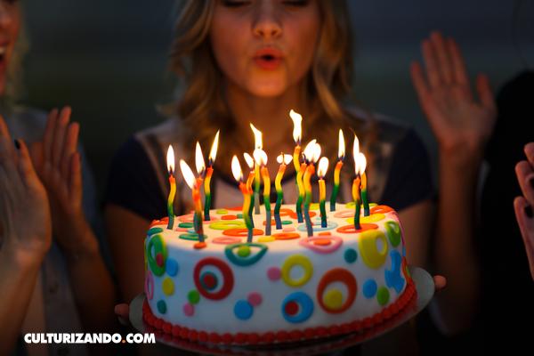 El origen de las velas en las tortas de cumpleaños