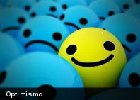 Estudio asegura que el optimismo es un defecto cerebral
