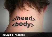 5 tatuajes insólitos… ¿te harías alguno de estos?