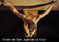 ¿Conoces este cuadro? El Cristo de San Juan de la Cruz de Salvador Dalí