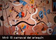 ¿Conoces este cuadro? El carnaval del arlequín de Joan Miró