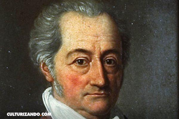 Johann Wolfgang Von Goethe, político, poeta y científico