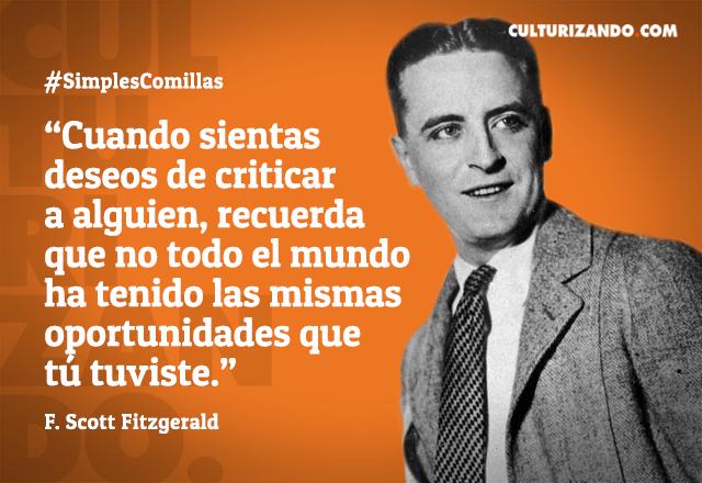 Frases De Francis Scott Fitzgerald Culturizandocom