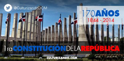 Hoy se cumplen 170 años de la Constitución dominicana (vía @CulturizandoDOM)