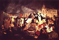 ¿Conoces este cuadro? Terremoto de 1812 de Tito Salas