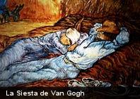 ¿Conoces este cuadro? La Siesta de Vincent Van Gogh