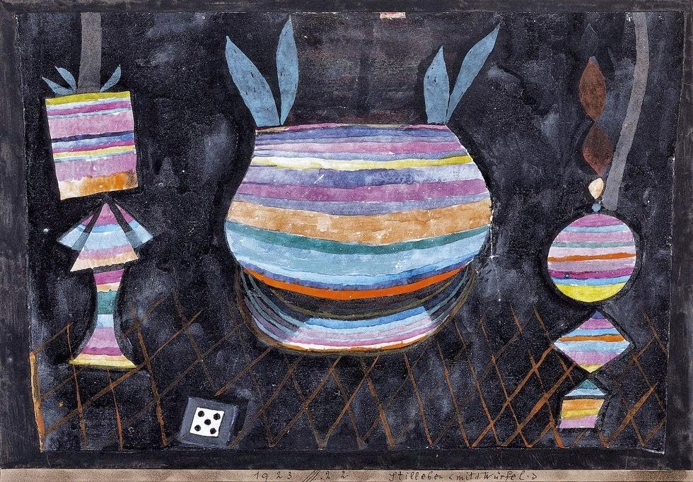 Paul Klee - Bodegón con dado