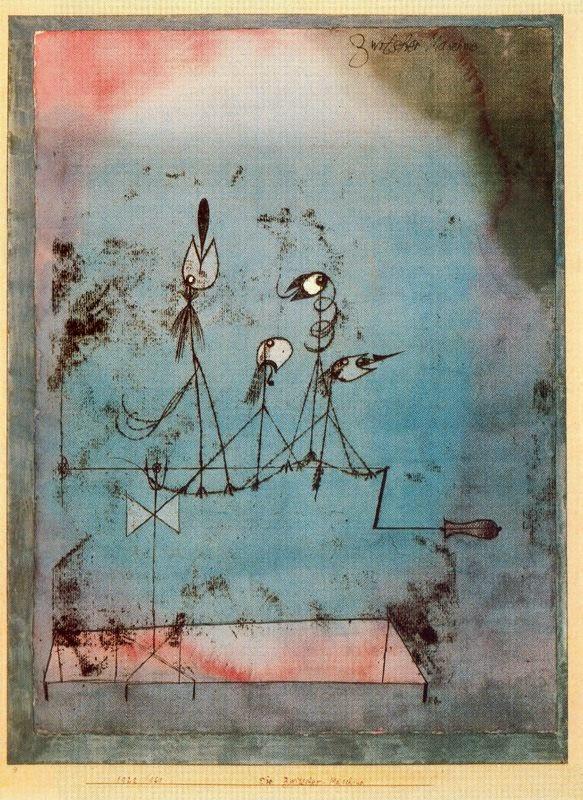 Paul Klee - Máquina temblorosa