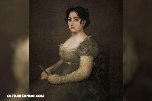 ¿Conoces esta obra de arte ? La mujer del abanico de Goya