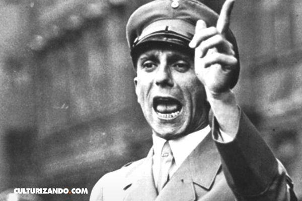 Los 11 principios de la propaganda nazi por Joseph Goebbels