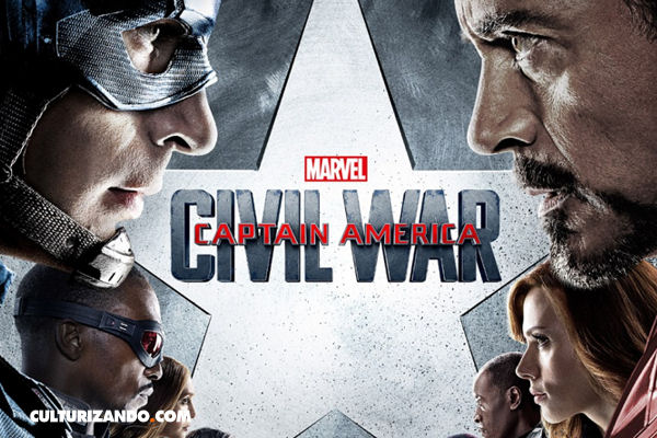 Nuevo póster y trailer definitivo de 'Captain America: Civil War'