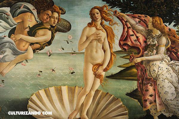 ¿Conoces este cuadro? El nacimiento de Venus de Boticelli