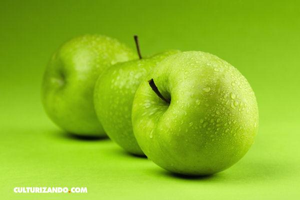Comer una manzana al día hace bien para el corazón