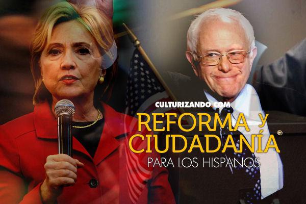 Reforma y ciudadanía prometen demócratas a los hispanos