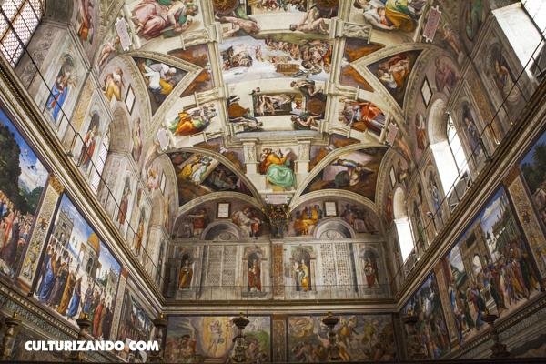 Sobre cómo Miguel Ángel pintó la Bóveda de la Capilla Sixtina