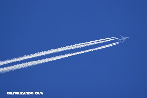 La Nota Curiosa: ¿Son contaminantes las estelas de los aviones?