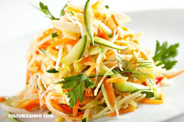 Tip cocinero: cortes de vegetales