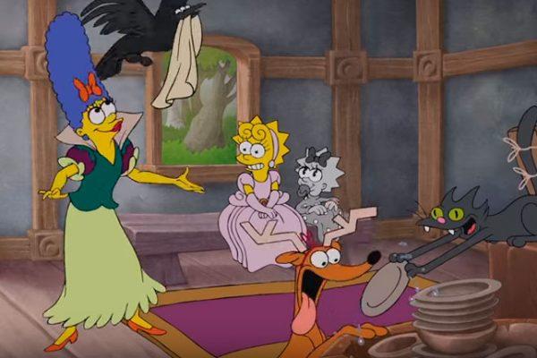 Genial intro de los Simpsons realizado por el animador de 'Alladin'