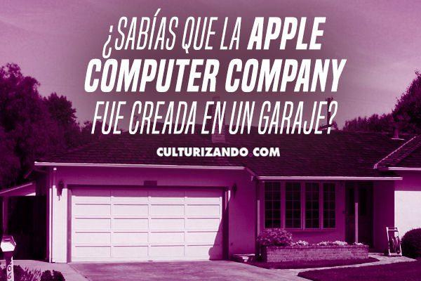 Apple Computer, la manzana que desde un garaje cambió al mundo