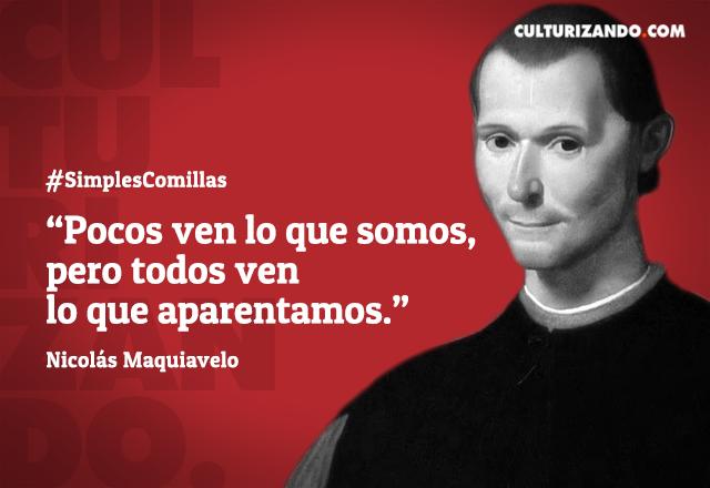 Frases de Nicolas Maquiavelo